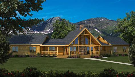 jackson log home plan southland log homes