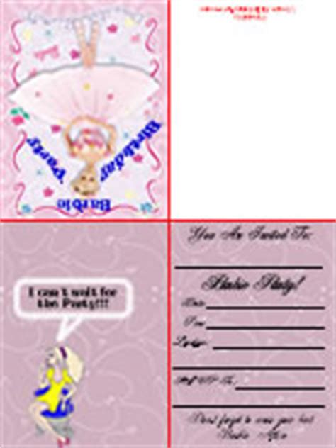Printable Birthday Invitations Foldable | find the ultimate free printable birthday cards