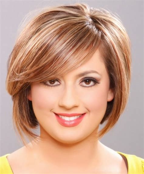 short hairstyles for the fuller face haircut style for women short hair archives hairstyles