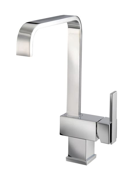 mayfair flow monobloc kitchen tap with side lever kit023