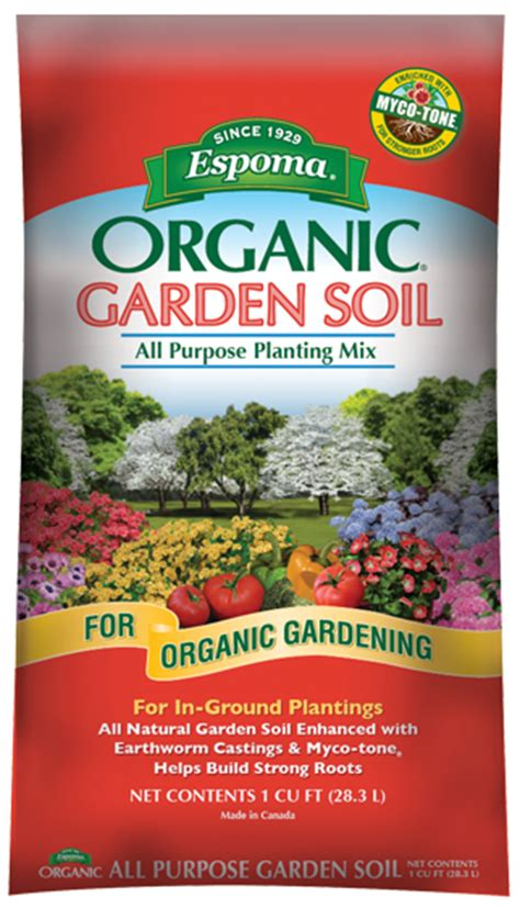 Espoma Organic All Purpose Garden Soil Espoma Organic Vegetable Garden Soil