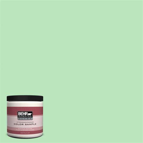 behr premium plus ultra 8 oz p390 3 mint parfait interior exterior paint sle ul20016 the