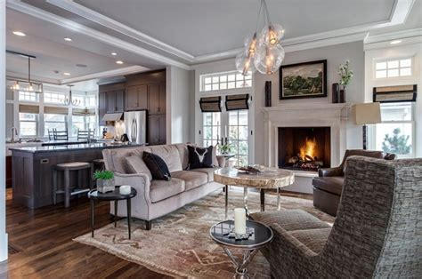 22 gorgeous brown and gray living room designs home