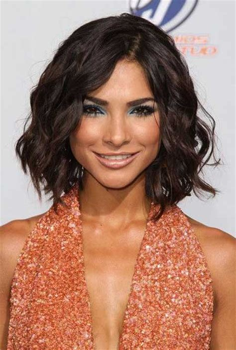 medium hairstyles with natural wave 20 best short wavy hairstyles short hairstyles 2017
