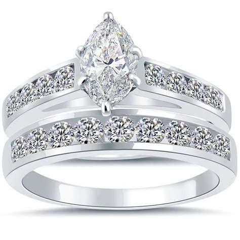 3 08 ct g vs2 marquise cut engagement ring wedding