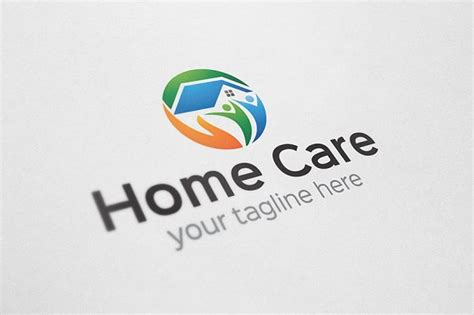 home care logo logo templates creative market