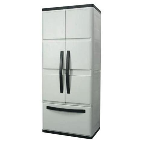 workforce storage cabinets home depot hdx 30 in plastic cabinet with 194982 at the home