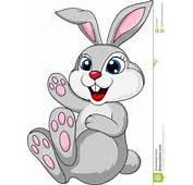 Cute Rabbit Bunny Sitting Stock Images  Image 29714934