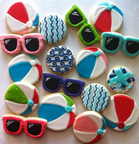 Summer Decorated Cookies by 17 Best Ideas About Summer Cookies On