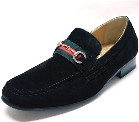 new s dress shoes fashion loafers slip on style real