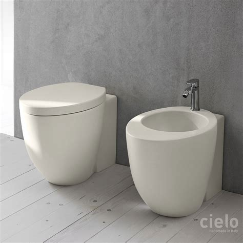 Wc Bidet by Wc E Bidet Colorati Bagno Sanitari Di Design Ceramica Cielo