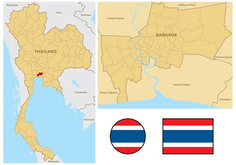 thailand map vector free thailand map free vector stock graphics