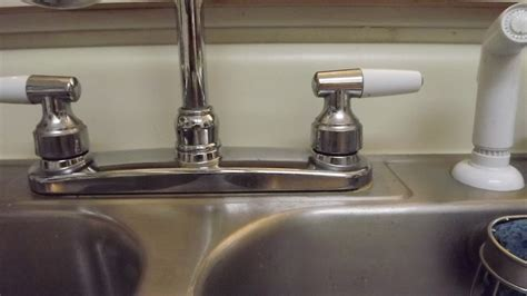 changing a kitchen faucet solved how do i replace repair the sprayer diverter valve