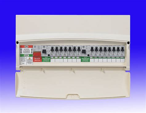 consumer unit dual rcd wiring from isolator diynot forums