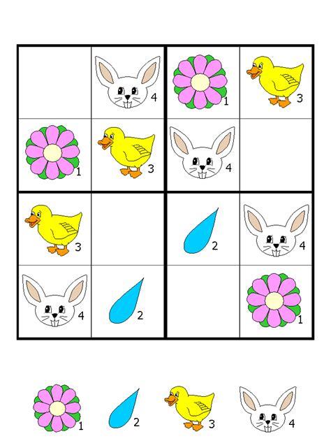 keyifli sudoku calismalari goeruentueler ile okul oencesi