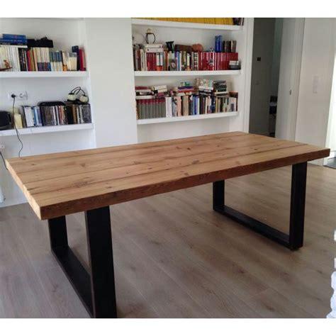 bases de madera para mesas de comedor mesas urbanvintage style mesa de estilo industrial