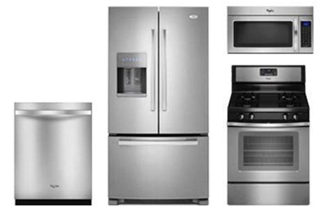 whirlpool kitchen appliances whirlpool stainless kitchen appliance package abt com