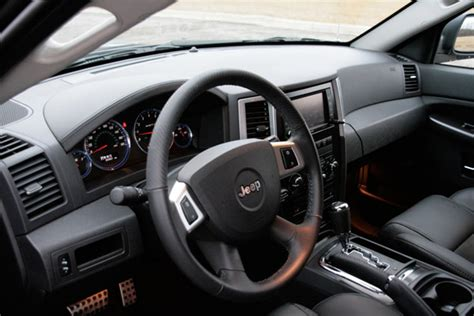 2009 Jeep Grand Interior by Review 2009 Jeep Grand Srt8 Autoblog
