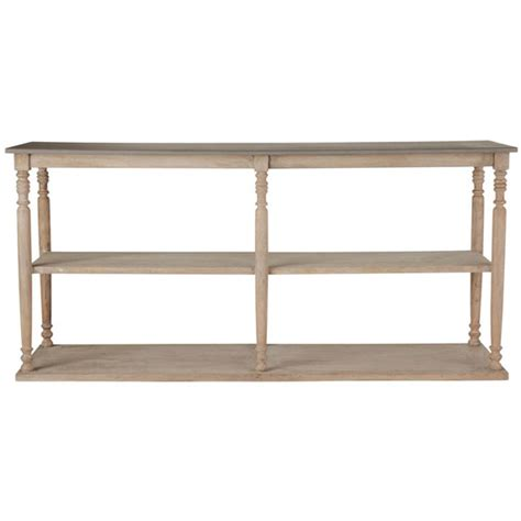 Table With Shelves by Wood Console Table With Shelves Parkstead Oka