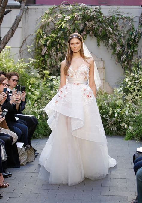Wedding 2017 Trends by 2017 Wedding Dress Trend You Need To About 3d Floral