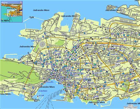split carte  image satellite