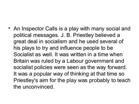 main themes in an inspector calls an inspector calls gcse