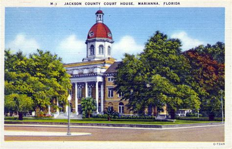 Jackson County Florida Court Records Florida Memory Jackson County Court House Marianna Florida