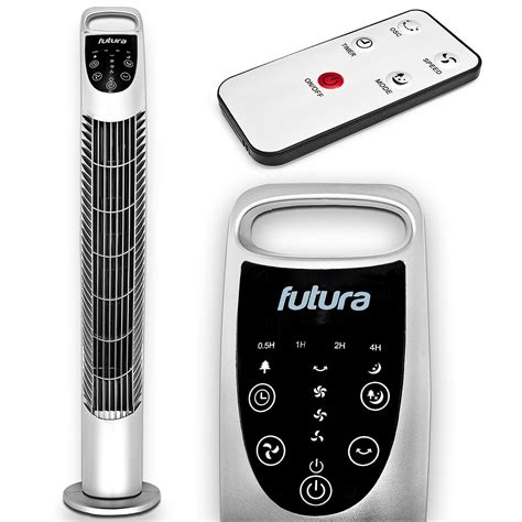 oscillating tower fan with remote oscillating tower fan 31 with remote futura direct