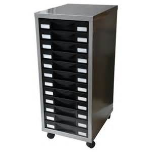 Multi Drawer Filing Cabinet Buy Henry A4 12 Drawer Multi Filing Cabinet Silver With Black Drawers From Our Filing