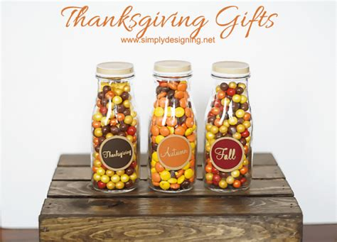 Fall Giveaway Ideas - simple thanksgiving gift idea