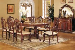 Elegant Dining Room Furniture by Perfect Formal Dining Room Sets For 8 Homesfeed