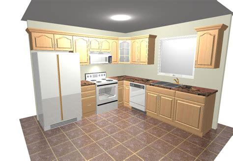 10x10 Kitchen Designs With Island by 10x10 Kitchen Designs