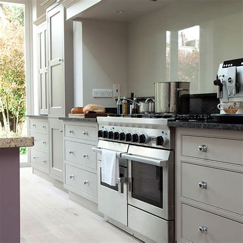 pale grey kitchen cabinets pale grey kitchen with range cooker kitchen decorating