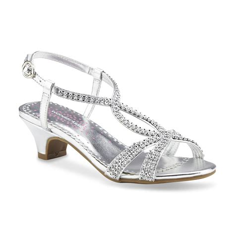 silver dress shoes wonderkids s hettie silver dress sandal shoes