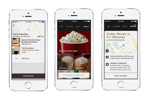 Portland Starbucks Addicts Can Order Coffee with Mobile