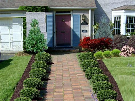 Small Front Garden Ideas Garden Design Small Front Yard Landscaping Ideas Low Maintenance Landscaping Pinterest