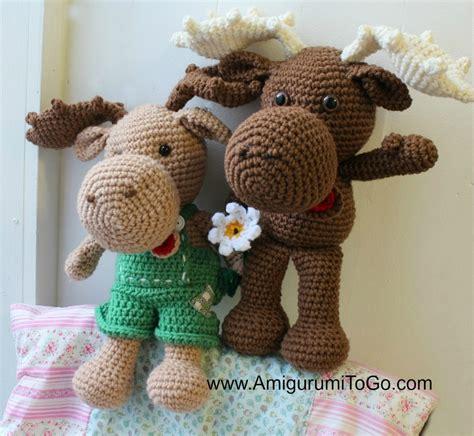 amigurumi moose pattern free adorable crochet moose pattern allfreecrochet com