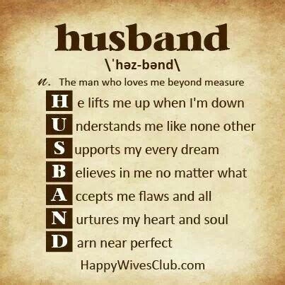 for hubby definition of husband for my husband