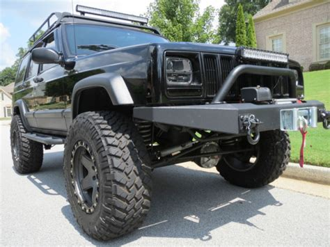 jeep modified classic 4x4 2000 jeep cherokee xj modified and restored must see 4x4