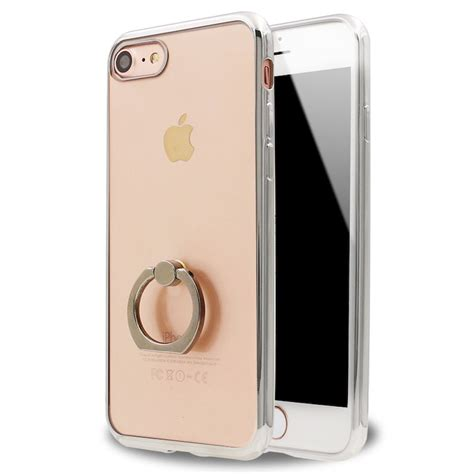 I Ring Stand Iphone 7 Plus wholesale iphone 7 plus clear electroplate ring stand