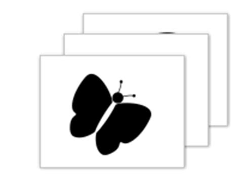 printable baby flash cards black white download infant stimulation flash cards black white