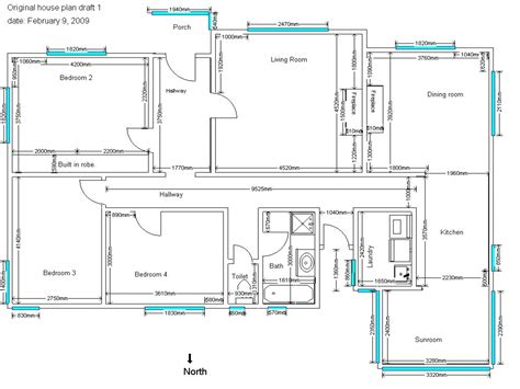 home design drawing home plan drawing modern house
