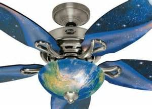 Outer Space Ceiling Fan Space Discovery 48 In Brushed Nickel Ceiling Fan