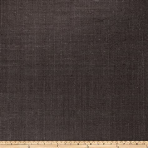 raw silk upholstery fabric fabricut andes raw silk charcoal discount designer