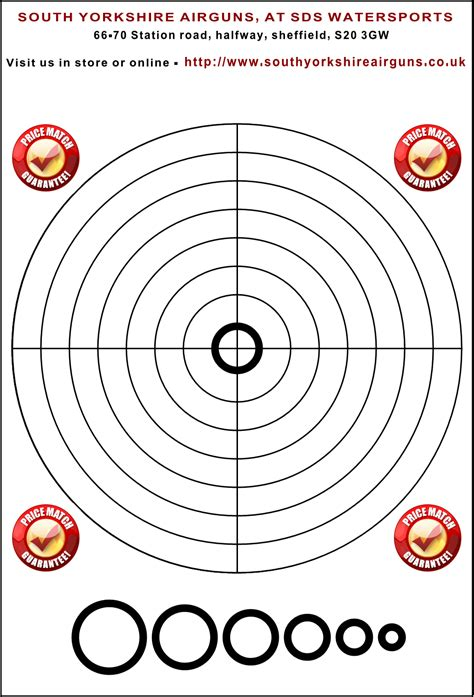 printable shooting targets uk our free targets