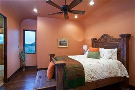sherwin williams baked clay sw6340 color mediterranean bedroom design studios