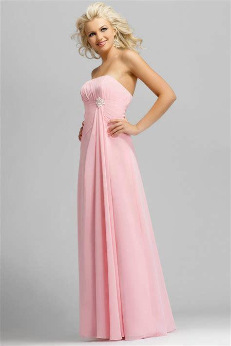 Cheap Finder Cheap Pink Bridesmaid Dresses Alluring Gown