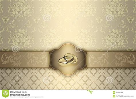wedding invitation background designs gold wedding invitation card design stock illustration