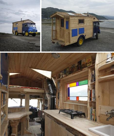 house of trucks urban gypsies wild wacky housetrucks converted buses webecoist