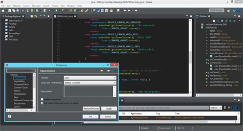 eclipse theme luna download eclipse ide for java full dark theme stack overflow